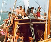 gita in barca vela Riccione