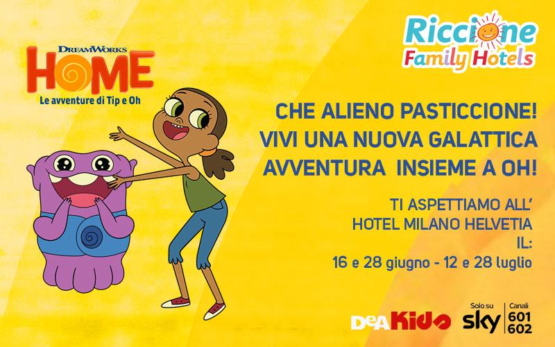 Eventi per bambini Riccione - Peter Pan e Robin Hood in hotel