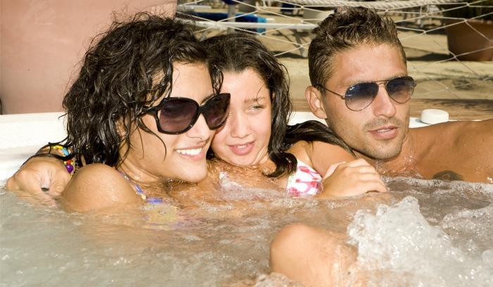 hotel Riccione avec plage